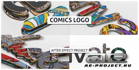 Comics Logo 21346895 - Project for After Effects (Videohive)