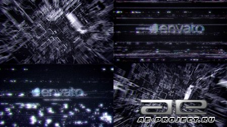 Futuristic Hi Tech Glitch Reveal - Project for After Effects (Videohive)